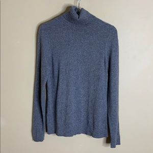 Ann Taylor gray cashmere sweater